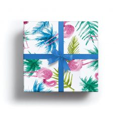 Tropical Flamingo Lux Gift Wrap