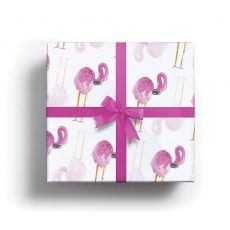 Flamingo Lux Gift Wrap
