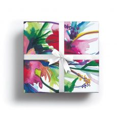 Watercolour Flowers Lux Gift Wrap