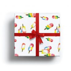 Ice Blocks Lux Gift Wrap
