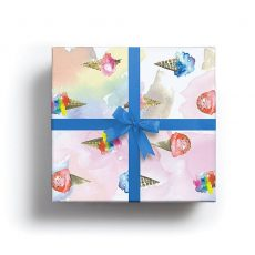 Ice Cream Lux Gift Wrap